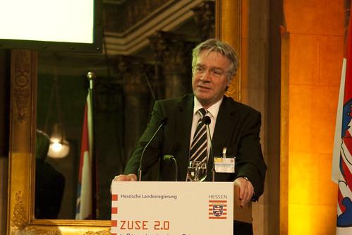 Grußwort von Prof. Horst Zuse