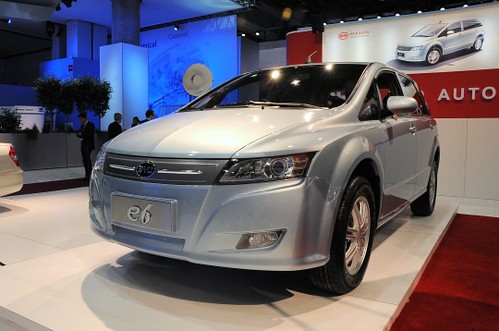 Electric car by BYD