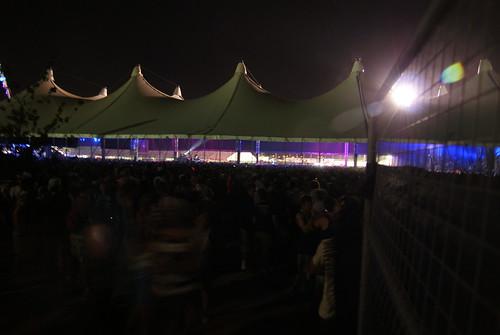 The BGO Dance tent