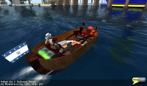 4 in a leaky boat