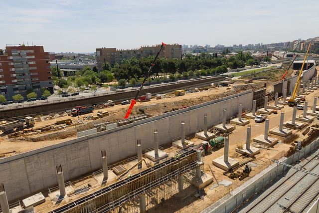 Zona Estació de Sant Andreu - Sur - 18-05-11