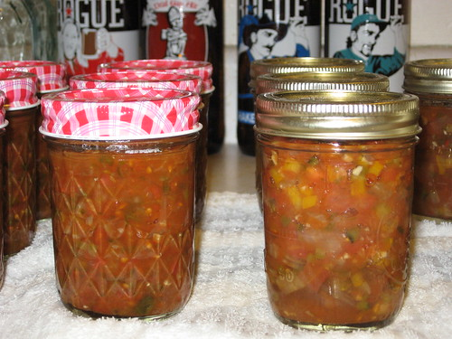 Canned Salsa vs. Canned Pico de Gallo