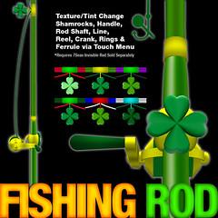 SUR: Shamrock Fishing Rod