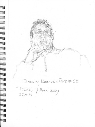 Drawing Unknown Faces, part 52