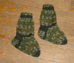 Woodsy Baby Socks