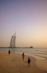 Dubai public beach