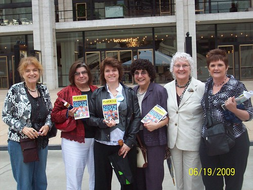 From left to right: Terry, Cheryl, me, Gerry, DeeDee, and Cathi