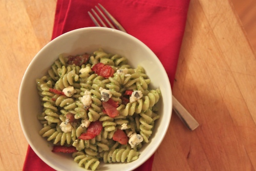 spinach salad pasta