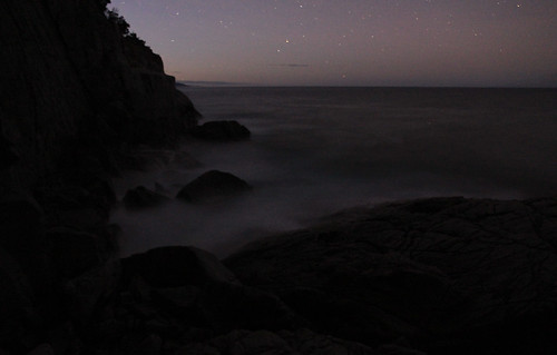 White Water Wall just after sunset - Freycinet - Coles Bay