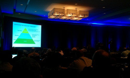 Briefing at #splunklive on Cyber Warfare by tadnkat