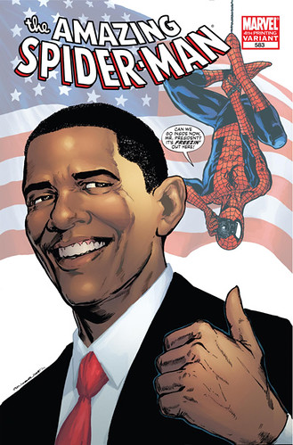 obama con spider-man por ti.
