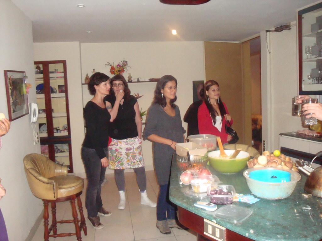 Fiesta en casa de Paola Torres