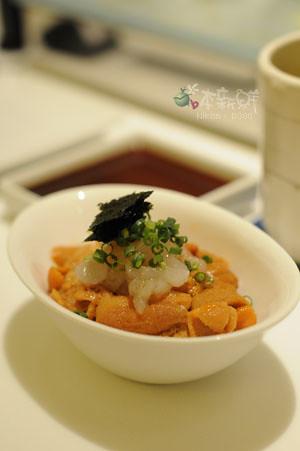 白蝦海膽丼飯