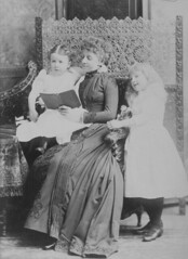 Mrs. Ramsay and her children, Montreal, QC, 1891