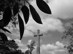 At the Cross (B&W)