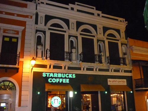 Old San Juan by night