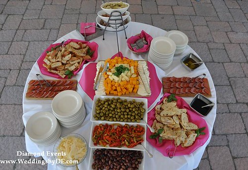 Antipasta Display from the top