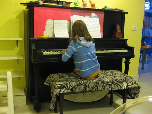 Symphony Practicing her Piano