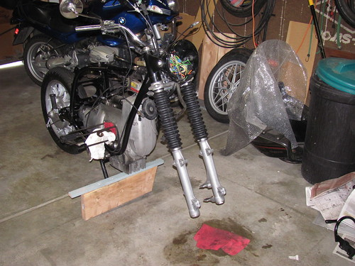 Front End Forks w/ 13 Rib Boots