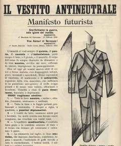 Manifiesto futurista