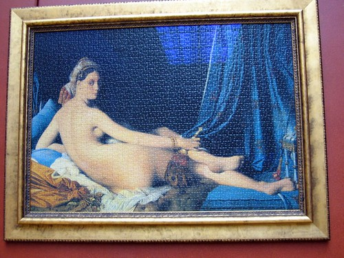 Ingres Puzzle at the Louvre.