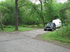 McKinney Falls Campsite