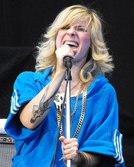 Maja Ivarsson The Sounds (tattoo)