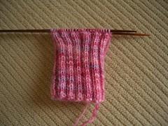 iPod Nano Sock WIP