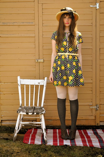 The sunflower dress.