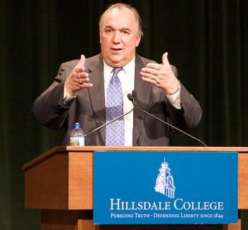 John Engler, Hillsdale College CCA Speaker