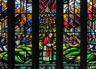 Pope John Paul II anoints the sick