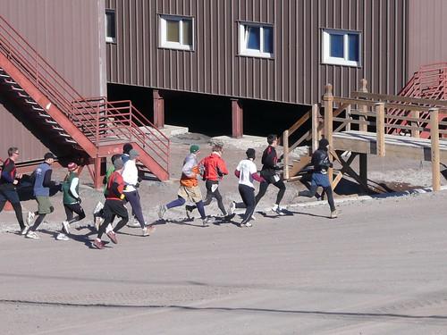 Scott's Hut Race