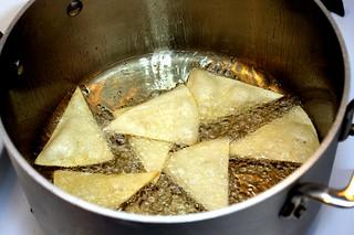 making tortilla chips