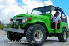 Mt. Pinatubo 4x4 Jeepney