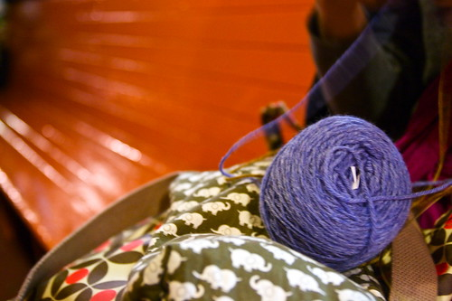 Knitting on the Staten Island Ferry