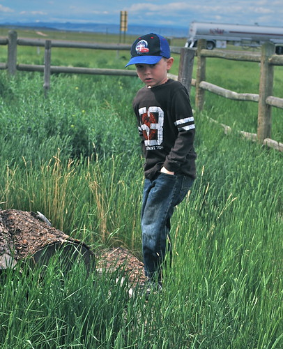 Kyle exploring