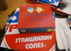 Strawberry Cones - Pizza at Aberdeen