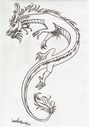 This is one of a growing number of tattoo designs I've done; I've even had a