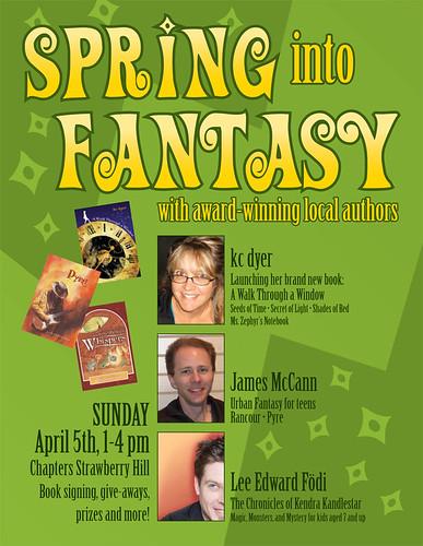 spring into fantasy