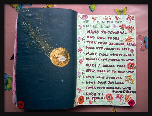 WTJ 94 - Write a list of more ways to wreck this journal