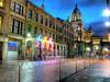 Glasgow's Merchant City By Night After Rain Shower by Hotpix UK Tony Smith [LRPS]