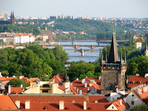 View of Vltava river by you.
