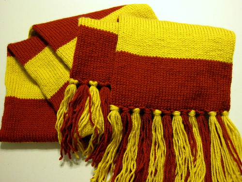 Harry Potter Scarf - done