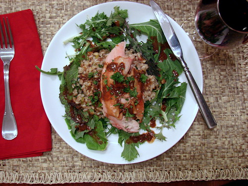 Dinner:  February 7, 2009