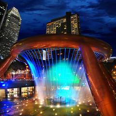 Luck is Near at The Fountain of Wealth, Suntec...