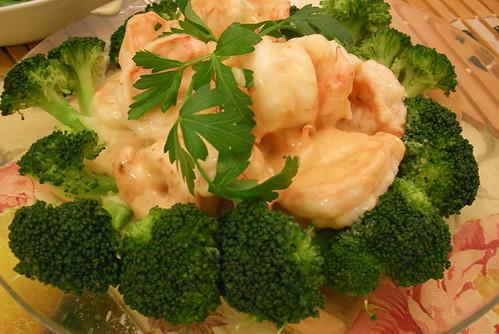 cantonese mayo shrimp