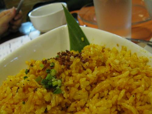 Aligue Rice at Classic Cuisine