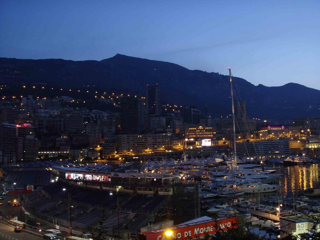 Amaneciendo en Mónaco (desde el Sector Rocher)
