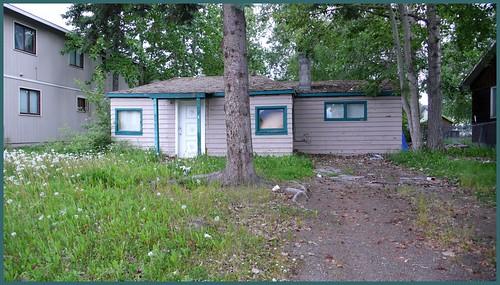 Small house, Fairview neighborhood.