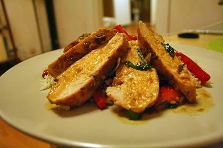 Mahogany Glazed Chicken